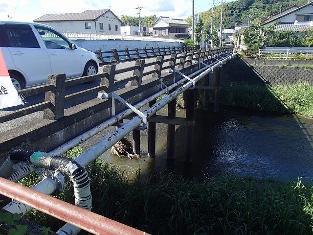 藤枝市を代表する高齢橋 藤岡橋 (昭和40年架設)