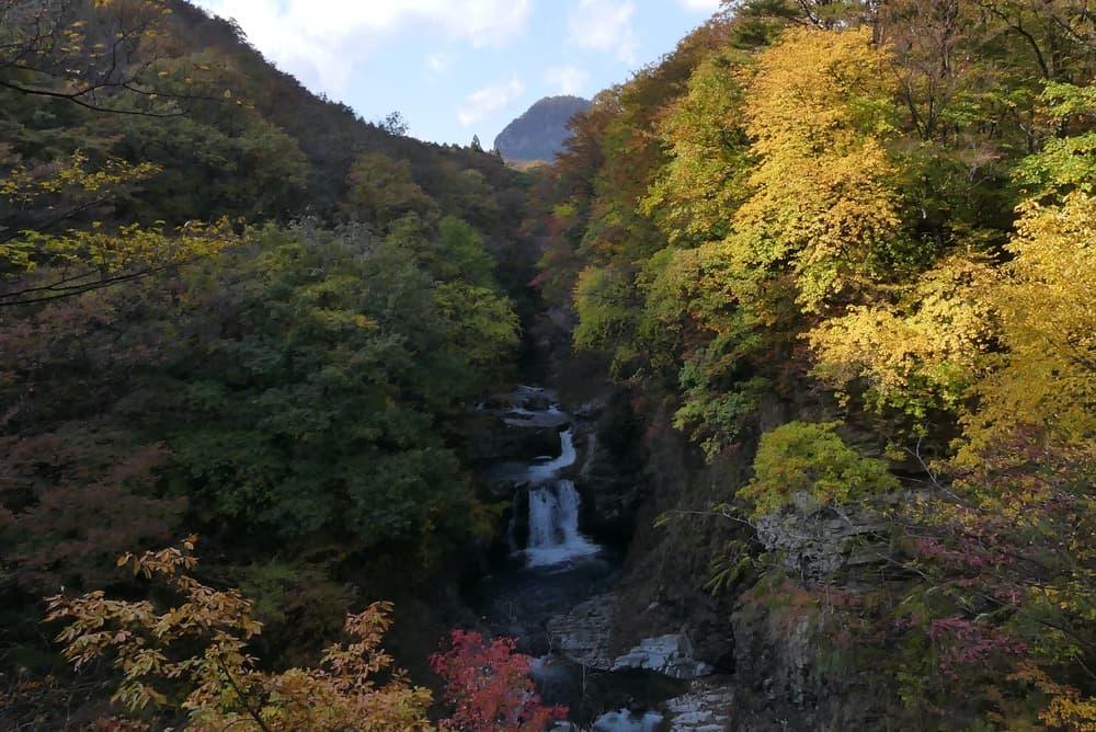 鳳鳴四十八滝の風景